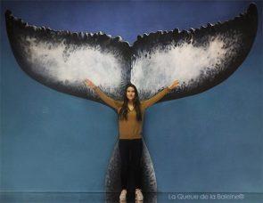 Estelle Trachino avec La Queue de la Baleine