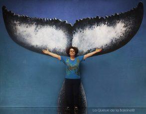Pascale Dahan avec La Queue de la Baleine