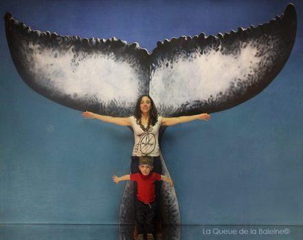 Hélène Dessalas avec La Queue de la Baleine