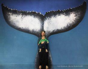 Carine Fadat avec La Queue de la Baleine