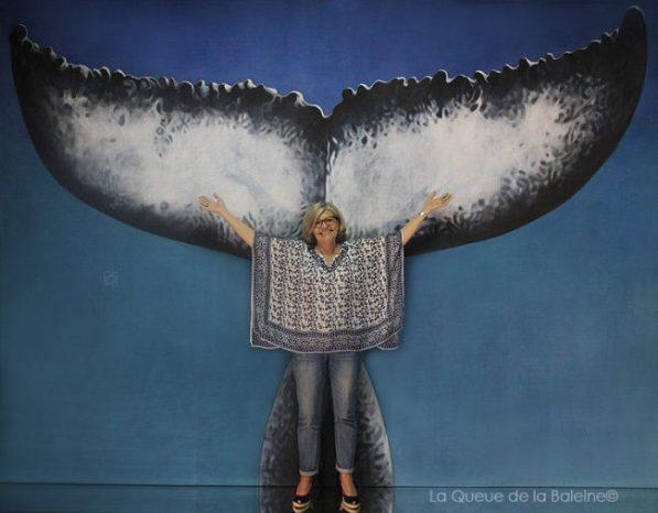 Christine Gérard avec La Queue de la Baleine