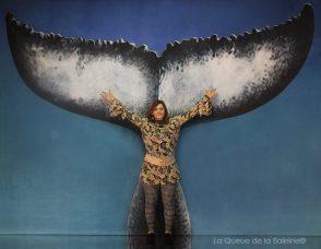Christine Pelletan avec La Queue de la Baleine