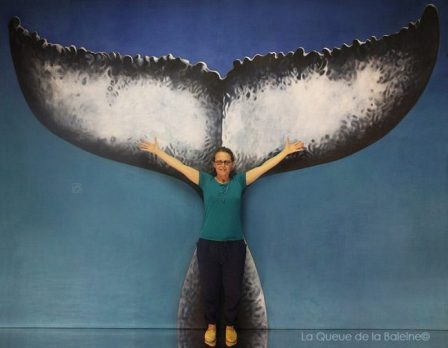 Cécile Champy avec La Queue de la Baleine