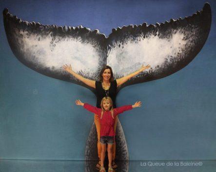 Sabine Antier avec La Queue de la Baleine