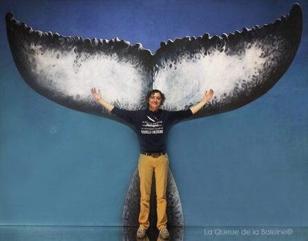 Marianne Cheret avec La Queue de la Baleine