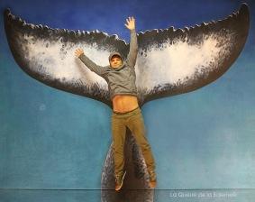 Tibor avec La Queue de la Baleine