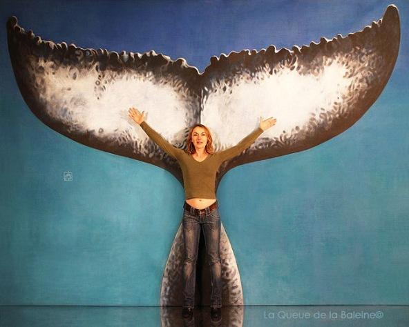 Gaelle Savary avec La Queue de la Baleine