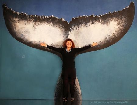 Fanny avec La Queue de la Baleine