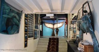 Rêve d'Amour, acrylique sur toile, 20 m2
