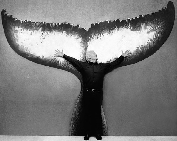 Jacques Rougerie avec La Queue de la Baleine