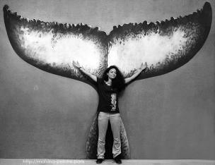 Lamya Essemlali avec La Queue de la Baleine