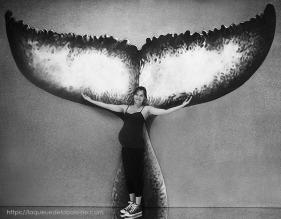 Leslie Gomila avec La Queue de la Baleine