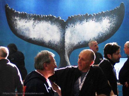 La Queue de la Baleine au Salon de la Plongée à Paris