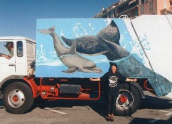 Peinture sur camion
