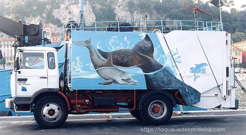 Camion benne de Saint-Jean Cap Ferrat
