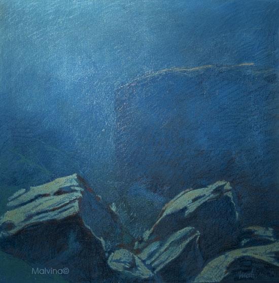 paysages de roches en Méditerranée