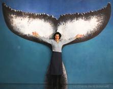 Dédé avec La queue de la Baleine