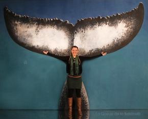 Perrine avec La Queue de la Baleine.
