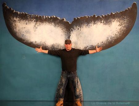 Jos avec La Queue de la Baleine.