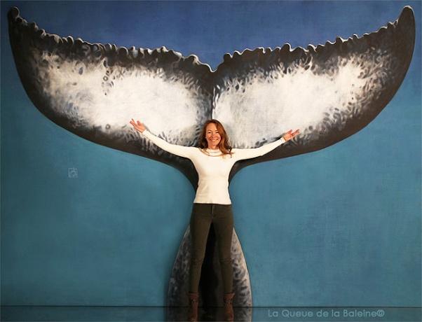 Ariane avec La Queue de la Baleine.