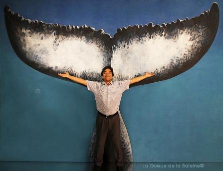 Idrist avec La Queue de la Baleine.