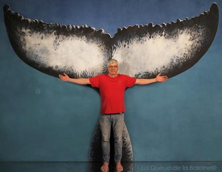 Jean Paul avec La Queue de la Baleine