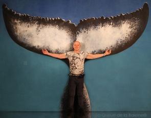 Norbert avec La Queue de la Baleine
