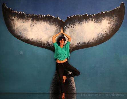 Anastasia avec La Queue de la Baleine