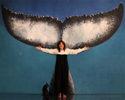 Christine Duhau avec La Queue de la Baleine