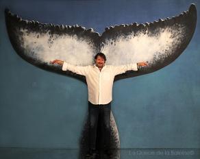 Antonio avec La Queue de la Baleine