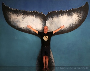 François avec La Queue de la Baleine