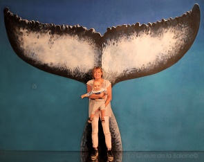 Martine et Charlie avec La Queue de la Baleine