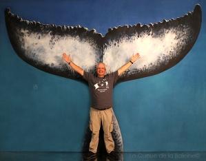 Patrick avec La Queue de la Baleine