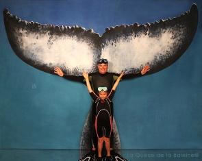René et Margot avec La Queue de la Baleine