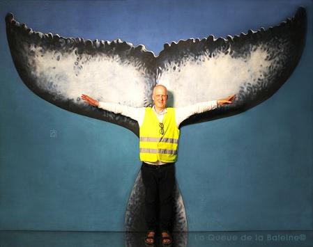 Jean Baptiste avec La Queue de la Baleine
