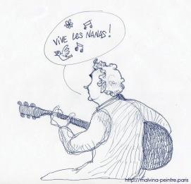 """Dessiné pendant l'émission """"Thé ou Café"""". 2014"""