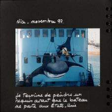1997 Malvina peint le bateau