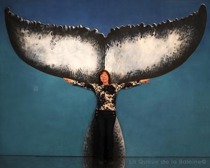 Anita Pasztor participe à la performance LQB